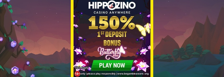 22 Free Spins – No Deposit Bonus at Hippozino Casino