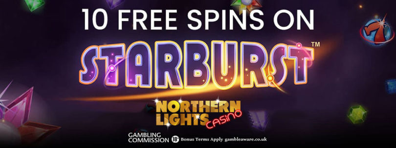 10 Free Spins Bonus at Northern Lights Casino
